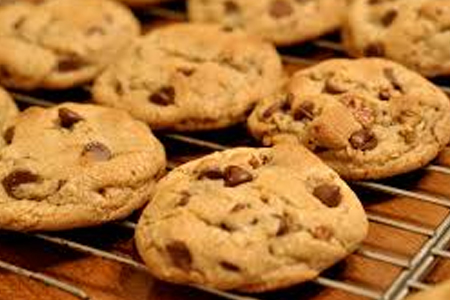 Soft and moist Chocolate Chip Cookies