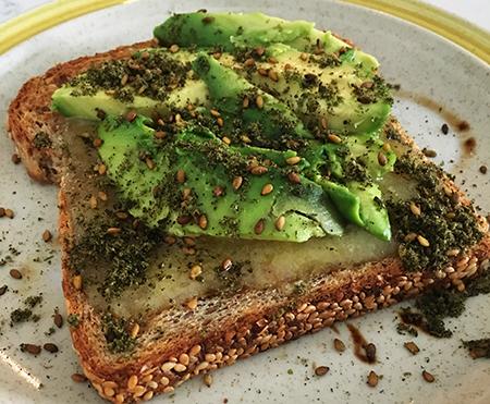 Za'Atar Toast: Take your avocado toast to the next level!