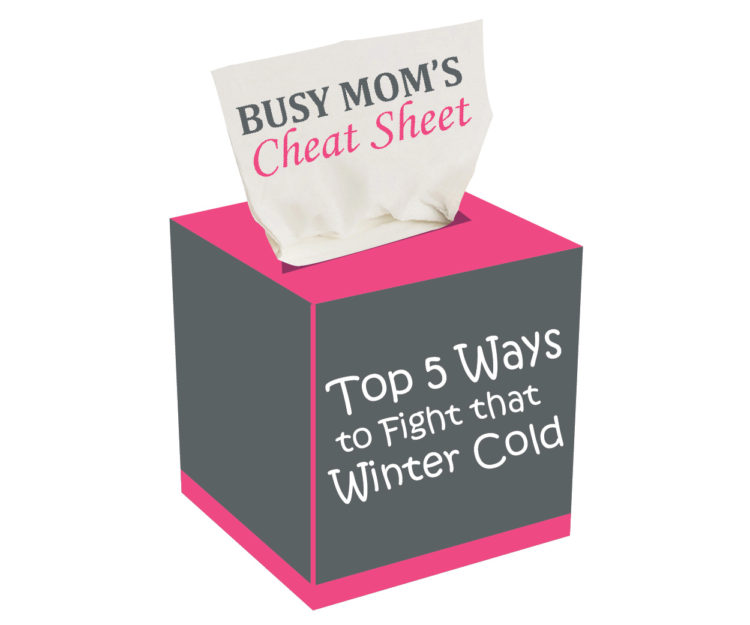 Busy Mom's Cheat Sheet Top 5 Ways to Fight that Winter Cold