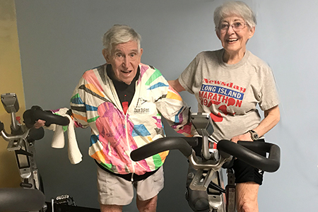 Top 10 ways this busy mommy gets her workouts in! Meet Chuck & Joy.